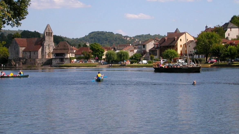 La rivière Dordogne à Beaulieu